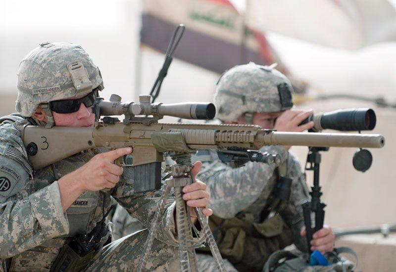 The most advanced sniper rifles in the world: M110 SASS