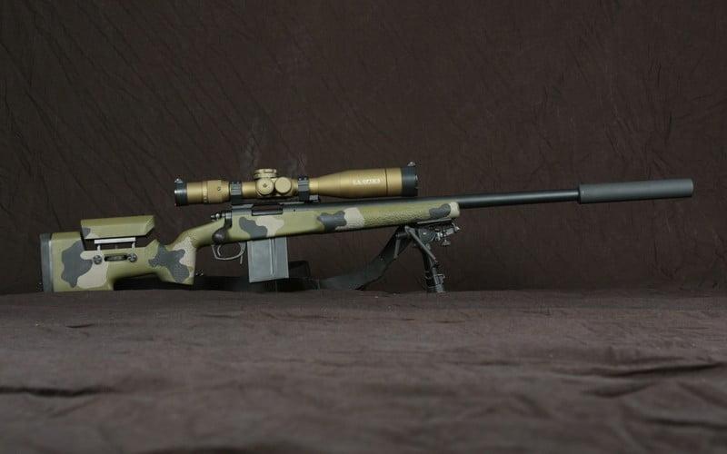 USMC standard sniper rifle