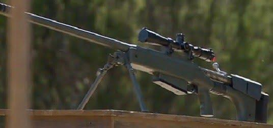 Canadian-made sniper rifle