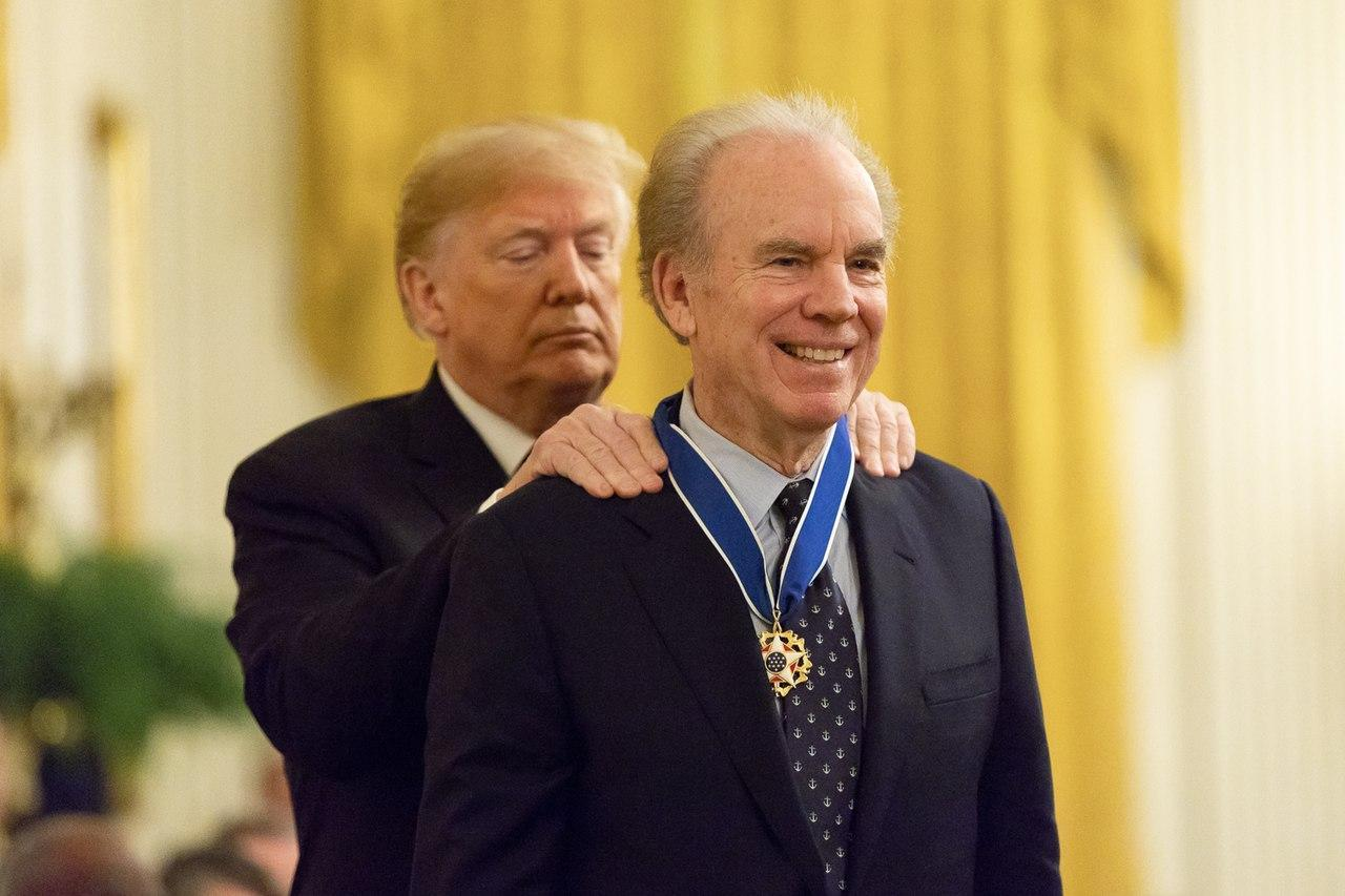 Roger Staubach Military Service: Medal of Freedom in 2018