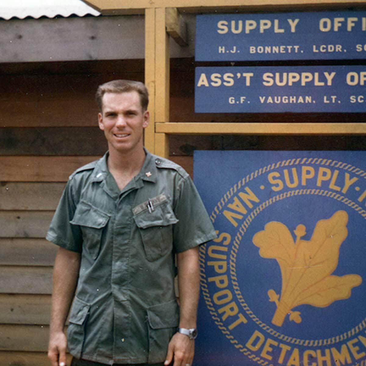 Roger Staubach at Khe Sahn, Vietnam