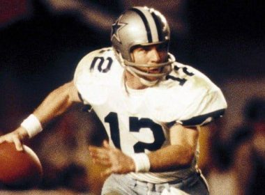 Roger Staubach in Super Bowl
