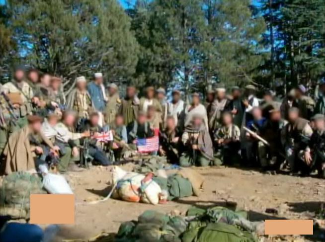 Special Boat Service with U.S. 1st SFOD-D (Delta Force) operators at the Battle of Tora Bora