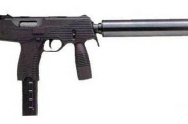 Steyr TMP (Tactical Machine Pistol) chambered in 9 mm