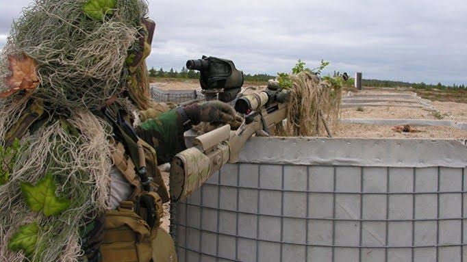 Steyr SSG 69 sniper rifle - Steyr-Mannlicher SSG-69