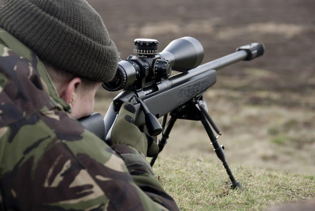 Steyer-Mannlicher SSG-69 sniper rifle is widely used in both law enforcement and military special units