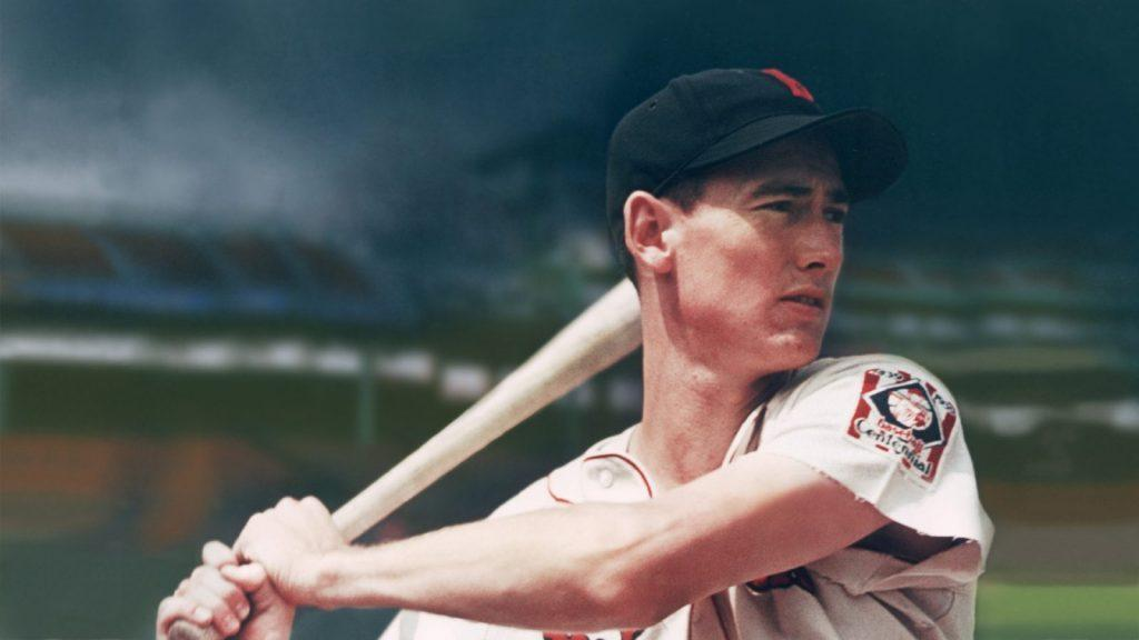 Ted Williams Famous Athlete who served in US military