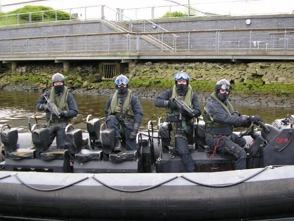 Special Boat Service: an SBS operators during the exercise at undisclosed location