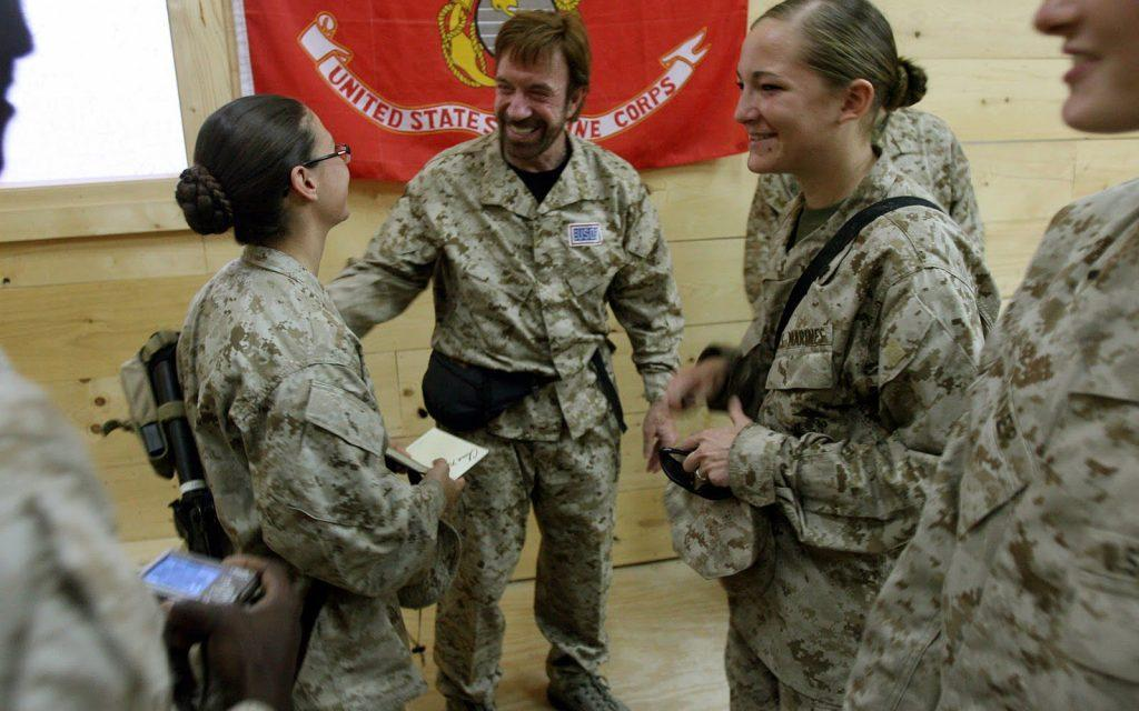 chuck norris military service - Top 5 celebrities who served in the U.S. Military
