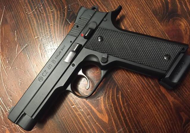 Colt Z40/CZ.40B pistol