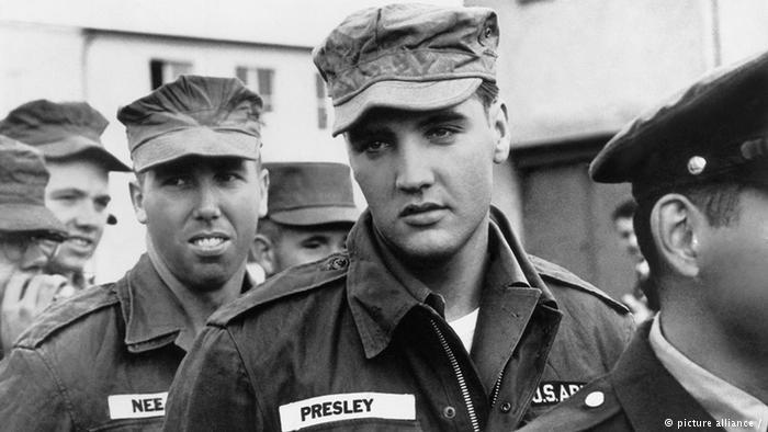 elvis presley military service 1