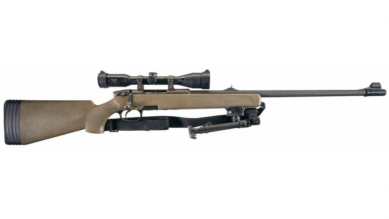 Steyr SSG 69 is the First 'Modern' Bolt-Action Sniper Rifle