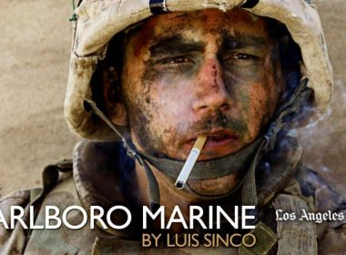 The Marlboro Marine, a photo from Iraq which made headlines
