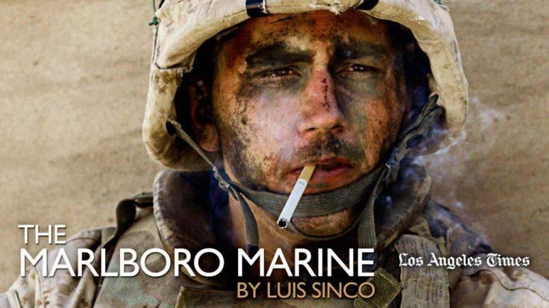 The Marlboro Marine, a photo from Iraq which made headlines