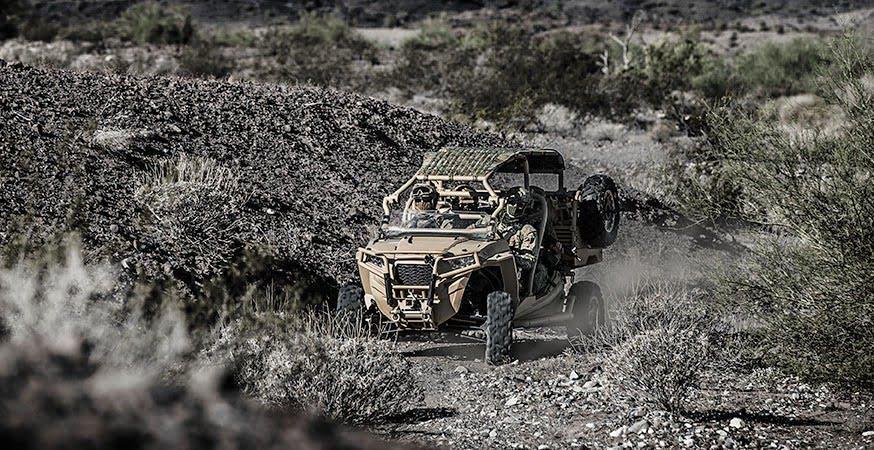 Polaris MRZR D4 ATV SOF - The ultimate Polaris ATVs for special operations