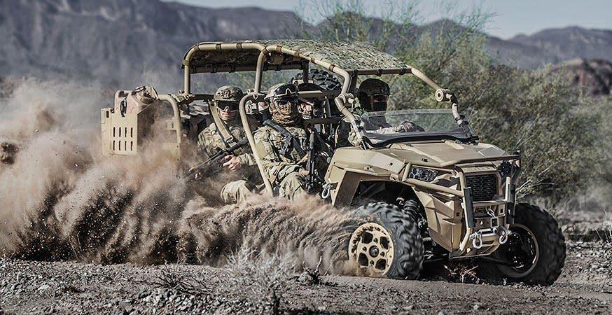 Polaris MRZR D4 ATV - The ultimate Polaris ATVs for special operations