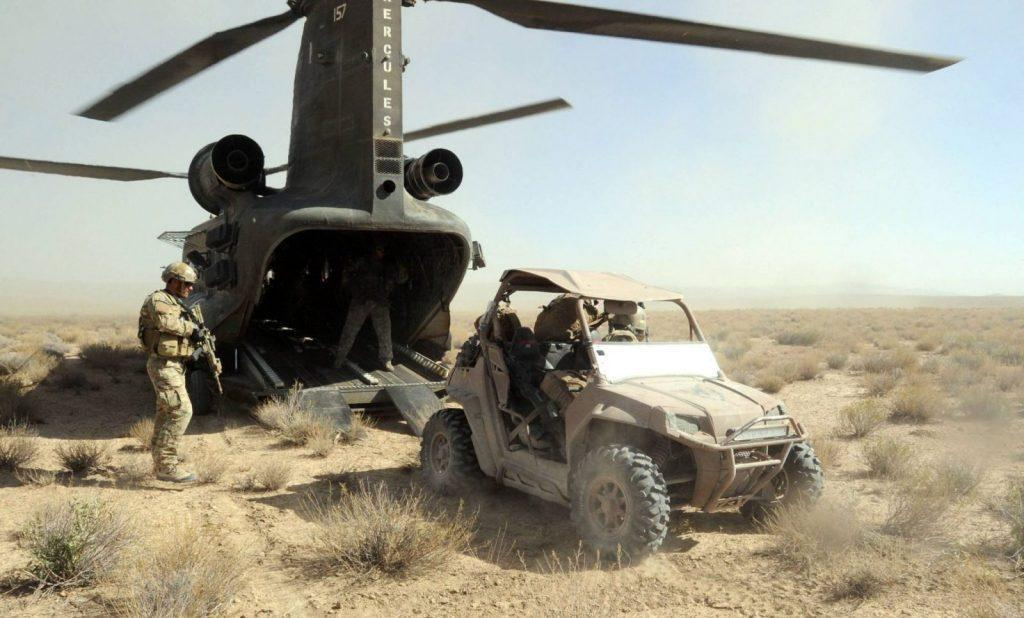 ATVs for Special Operations Forces: Polaris RZR 800
