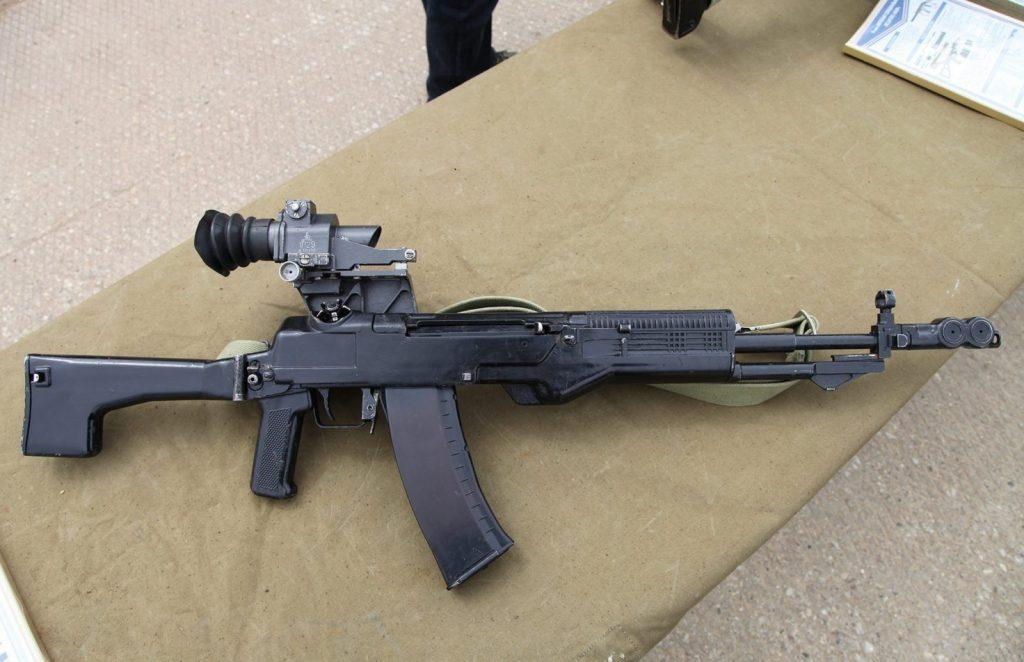 Russian Top 5 Assault Rifles - Prototype of AN-94 assault rifle, also known as LI-291