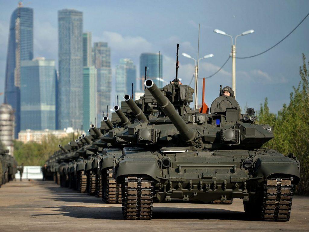 T 90A tanks 71st anniversary parade of Victory - T-90MS: New life for a legendary Russian 'flying tank'