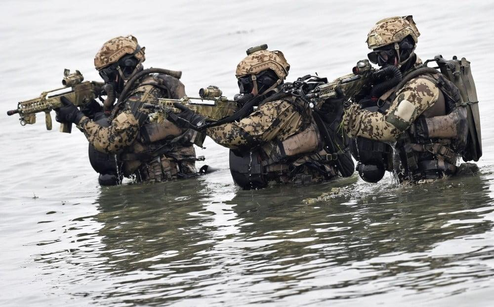 ksm kommando - German alternative to US Navy SEALs: Special forces of underwater commandos