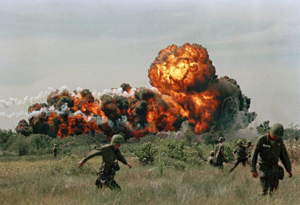 Vietnam War: Napalm Strike in 1966