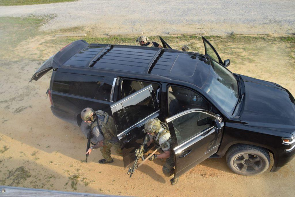 range complex instrucotrs - Delta Force vets show us why they love Chevy's big SUVs