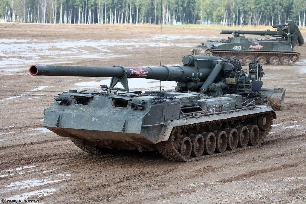 Top Five Most Fearsome Artillery Systems Used by the Russian Army 3