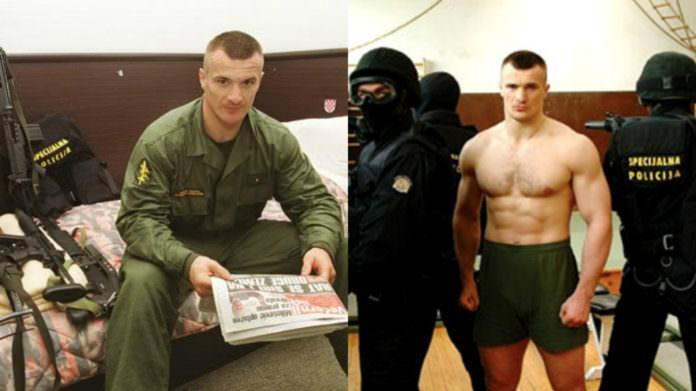 Mirko Filipovic, alias Mirko Cro Cop, a famous Croatian martial arts expert served in the Croatian special police unit ATJ Lucko during his early career