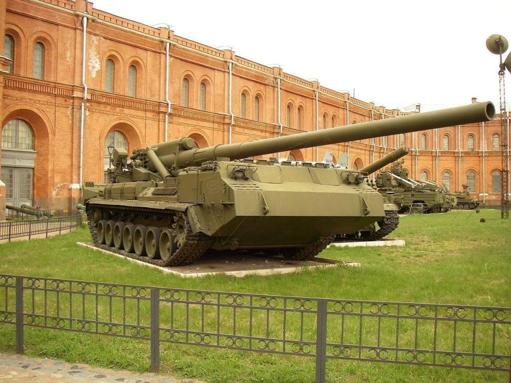 Top Five Most Fearsome Artillery Systems Used by the Russian Army 2