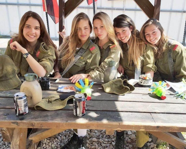 israeli girls 770x614 - Hottest Weapon: Israeli Female Soldiers Show Off Their Sexy Side