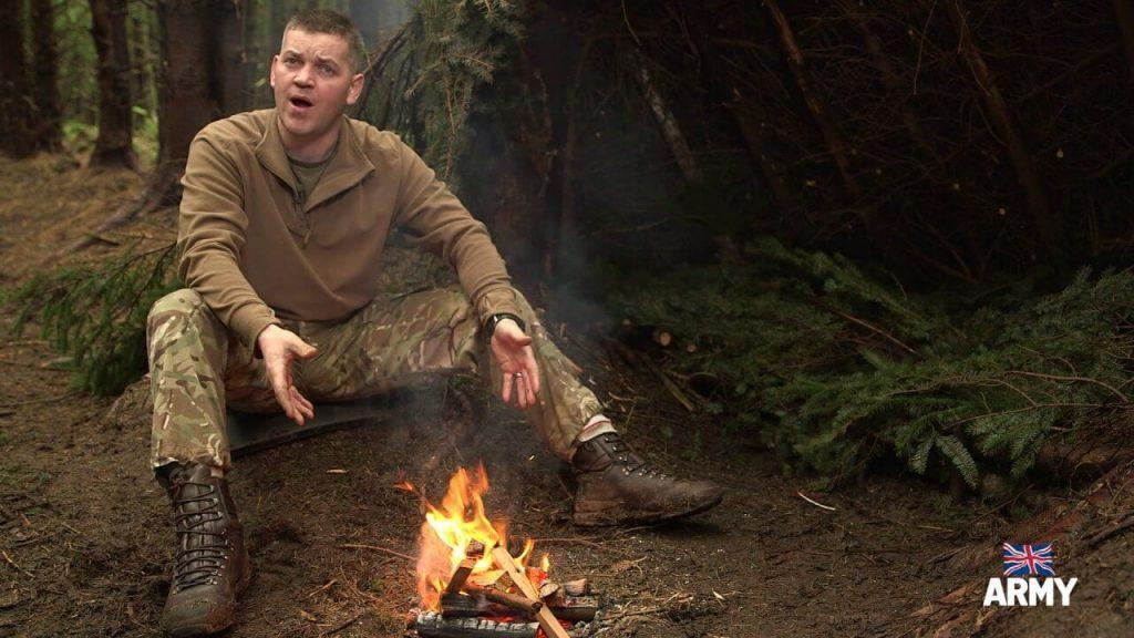 Bushcraft: How to make a fire 4