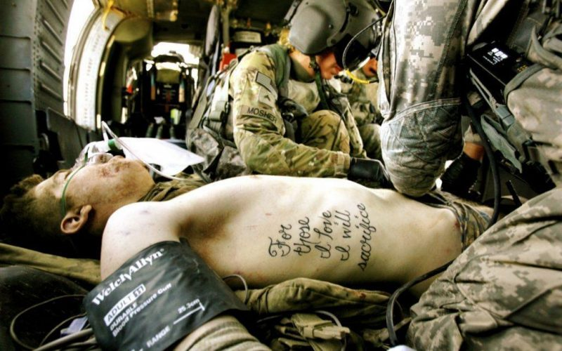 How a soldier's tattoo came true 2020 image