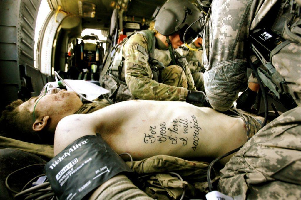 sacrifice 1 - How a soldier's tattoo came true