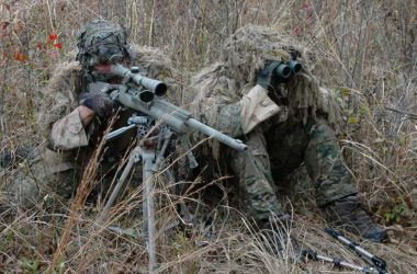 us army sniper team