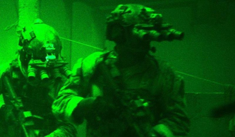 GPNVG-18 night vision goggles used by SEAL Team 6 in Operation Neptune Spear (target GERONIMO - Osama Bin Laden) in 2011