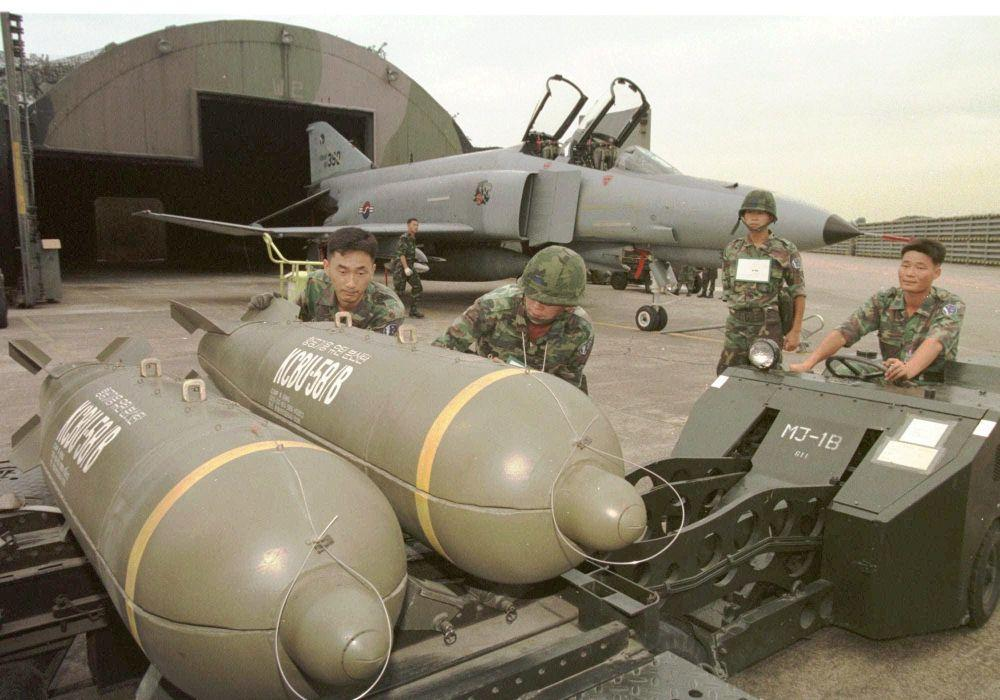 CBU 58B cluster bombs - Cluster Bombs: The Weapon the Major Military Powers Refuses to Give Up