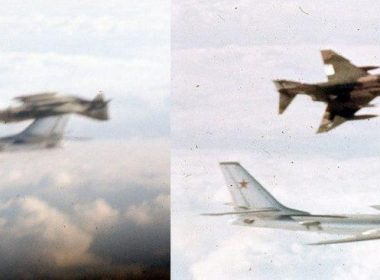 Never Seen Before: F-4 WSO Explains The Story Of The Phantom Upside Down Near Russian Tu-95 2020 image