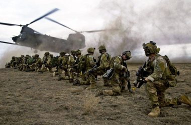 U.S. Army Rangers, assigned to 2nd Battalion 75th Ranger Regiment, prepare for extraction
