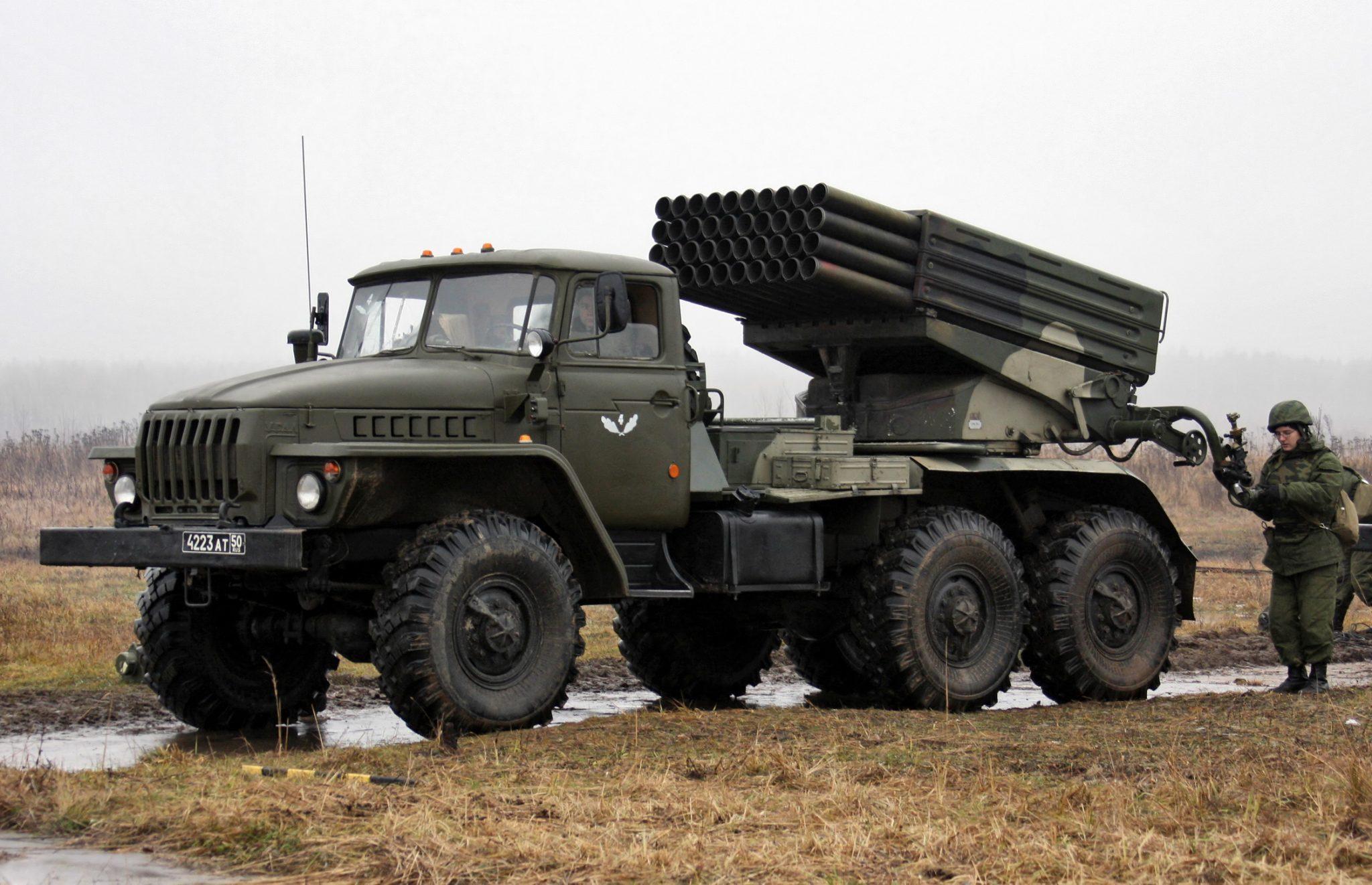 BM-21 Grad is still in service, despite it was introduced in service in 1963
