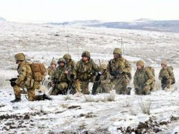 The two special forces fought in Falklands War 2020 image