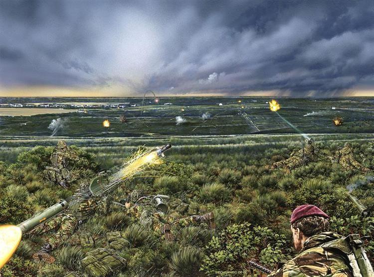 Falklands Wars: Battle of Mount Longdon