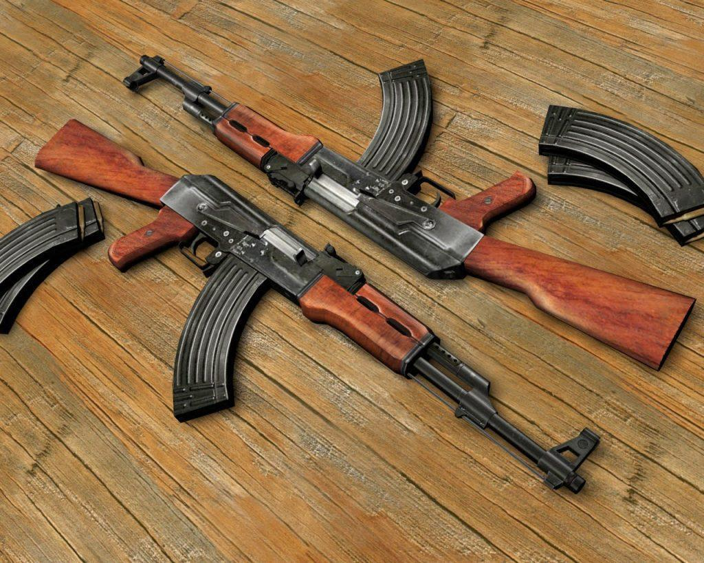 The Cost Of An AK-47 On The Black Market Around The World 2