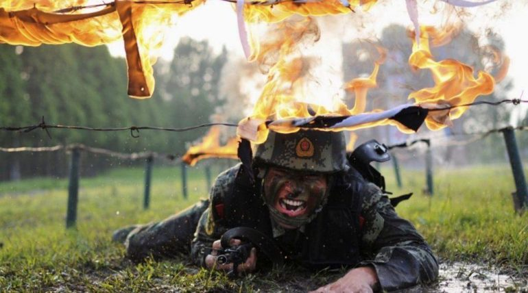 chinese police training 770x428 - The most brutal methods in Special Operations Forces training