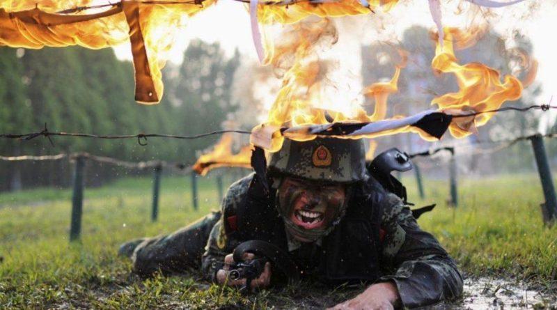chinese police training