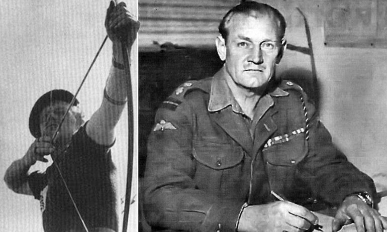 mad jack 770x462 - 'Mad Jack' the WWII soldier who fought Germans only with his sword and longbow