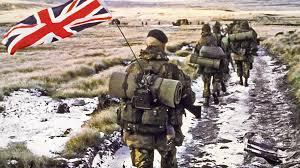 British SAS took the main leaders during the Falklands Wars