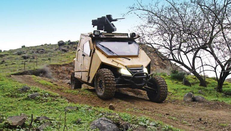 yagu special ops armored vehicle 770x437 - Yagu – An Ultralight Special Ops Armored Vehicle
