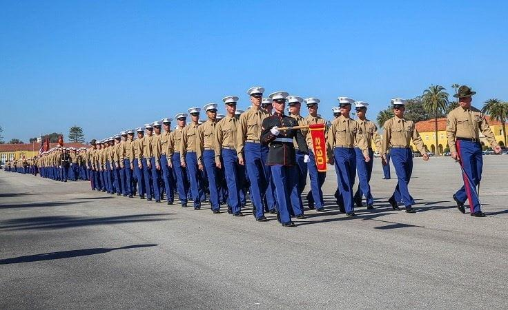 infantry training - Why wearing uniforms to a high school graduation is a boot move