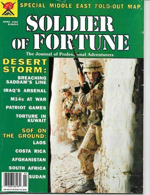 Soldier of Fortune is a legendary SOF magazine founded by Robert K. Brown