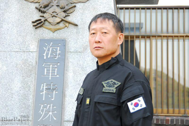Warrant Officer Joo Ho Han 707th batallion south korea